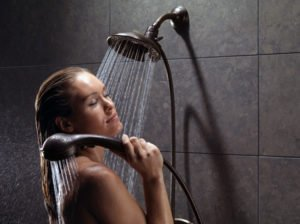 wash any part of your body a handheld shower head is flexible enough for you to direct the water flow to any part of your body when you desire
