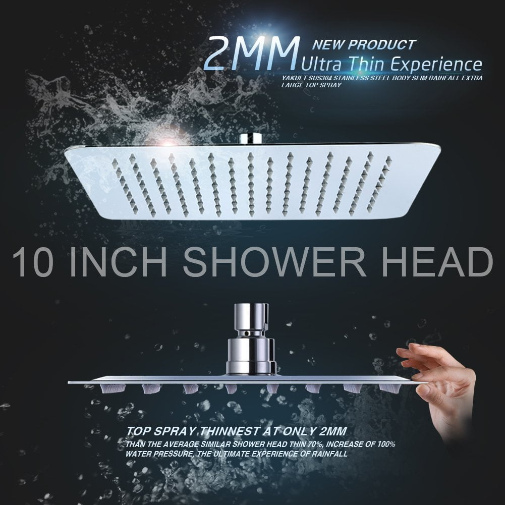 Best Rain Shower Head Reviews The Ultimate Guide In 2018 The