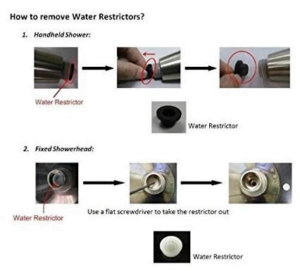 Hot Water Heater Problems >> How to increase shower head water pressure - The Perfect Baths