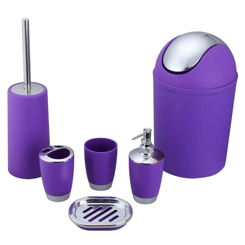 Bathroom-Accessory-Set-Lotion-Dispenser-Toothbrush-Holder-Tumbler-Cup-Soap-Dish-Toilet-1
