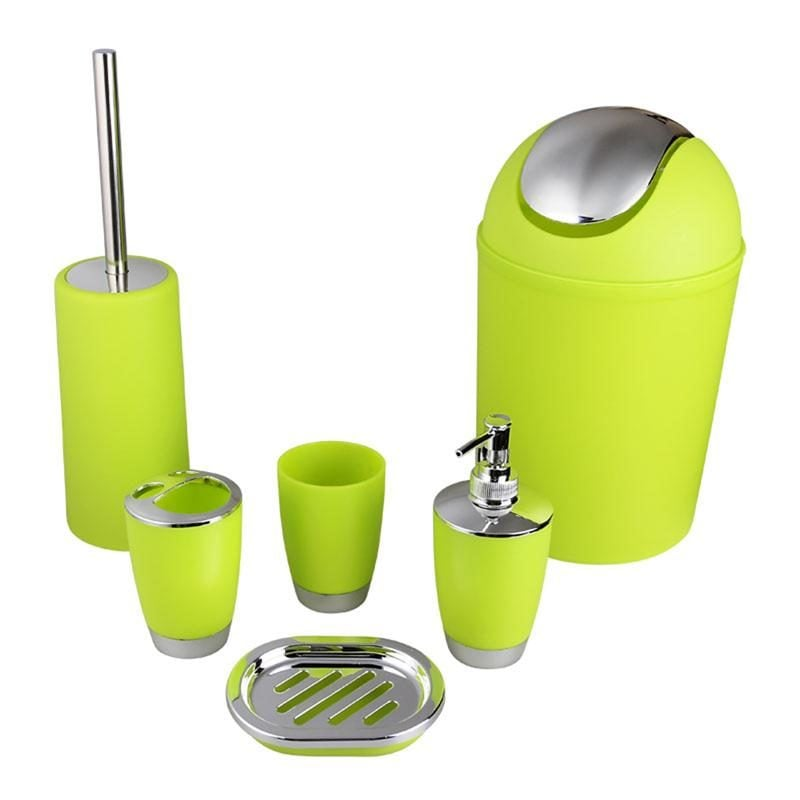 Bathroom-Accessory-Set-Lotion-Dispenser-Toothbrush-Holder-Tumbler-Cup-Soap-Dish-Toilet-2