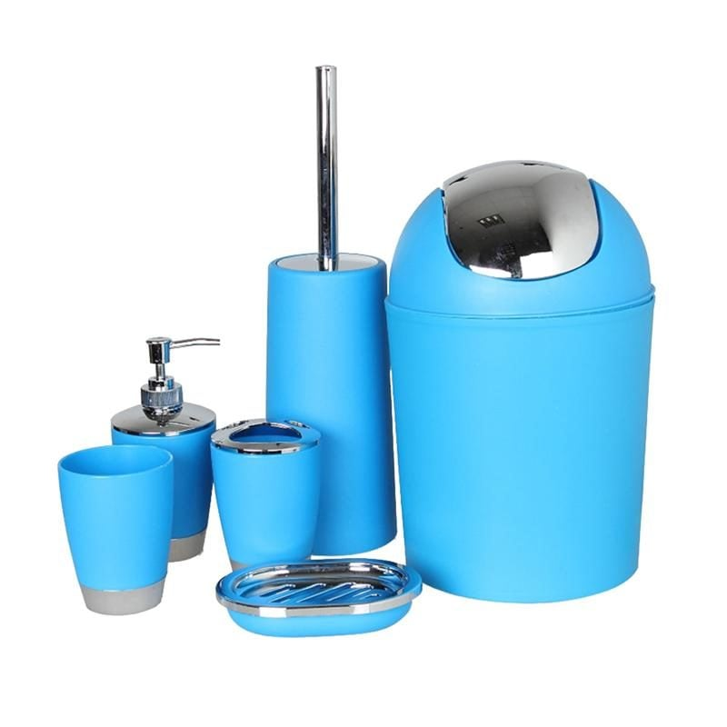 Bathroom-Accessory-Set-Lotion-Dispenser-Toothbrush-Holder-Tumbler-Cup-Soap-Dish-Toilet-3