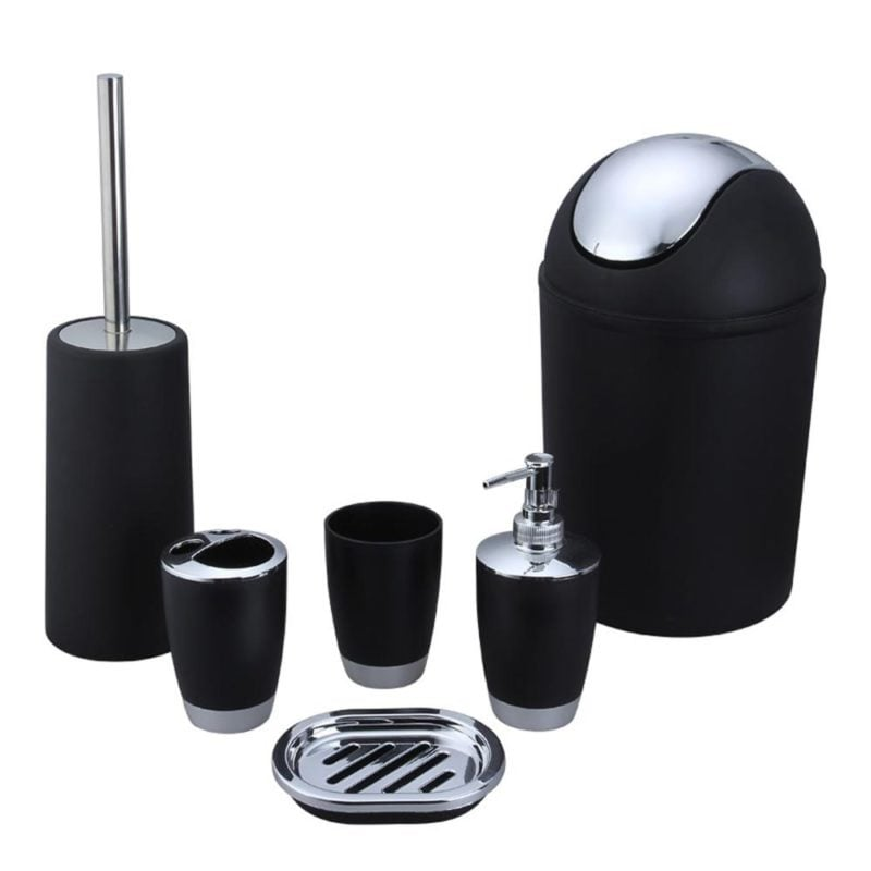 Bathroom-Accessory-Set-Lotion-Dispenser-Toothbrush-Holder-Tumbler-Cup-Soap-Dish-Toilet-4