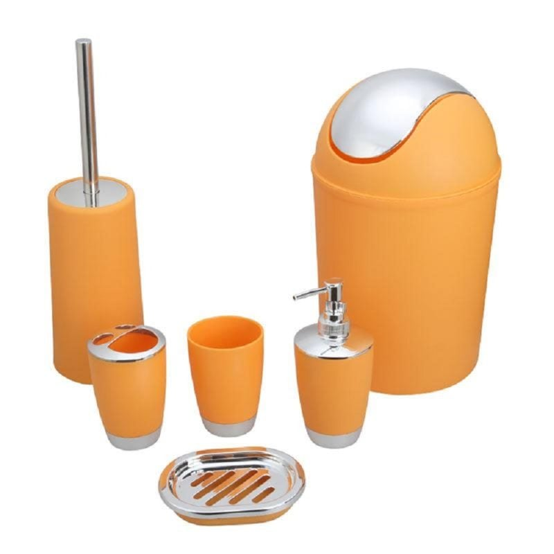Bathroom-Accessory-Set-Lotion-Dispenser-Toothbrush-Holder-Tumbler-Cup-Soap-Dish-Toilet-5